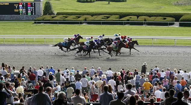 Grand day out: Enjoy the horse racing with a mint julep in hand - the traditional Kentucky Derby drink
