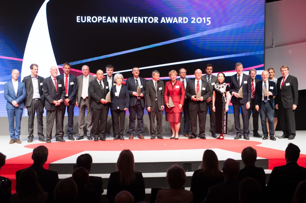 11th June 2015, Paris, The winners of the European Inventor Award 2015 in Paris